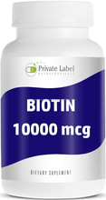 Maximum Strength PRIVATE LABEL - Capsules - BIOTIN SUPPLEMENT