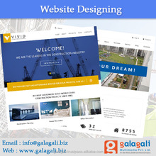 Web Portal Website Design and Development Service with Free Domain Registration for Builders - www.theme4biz.com