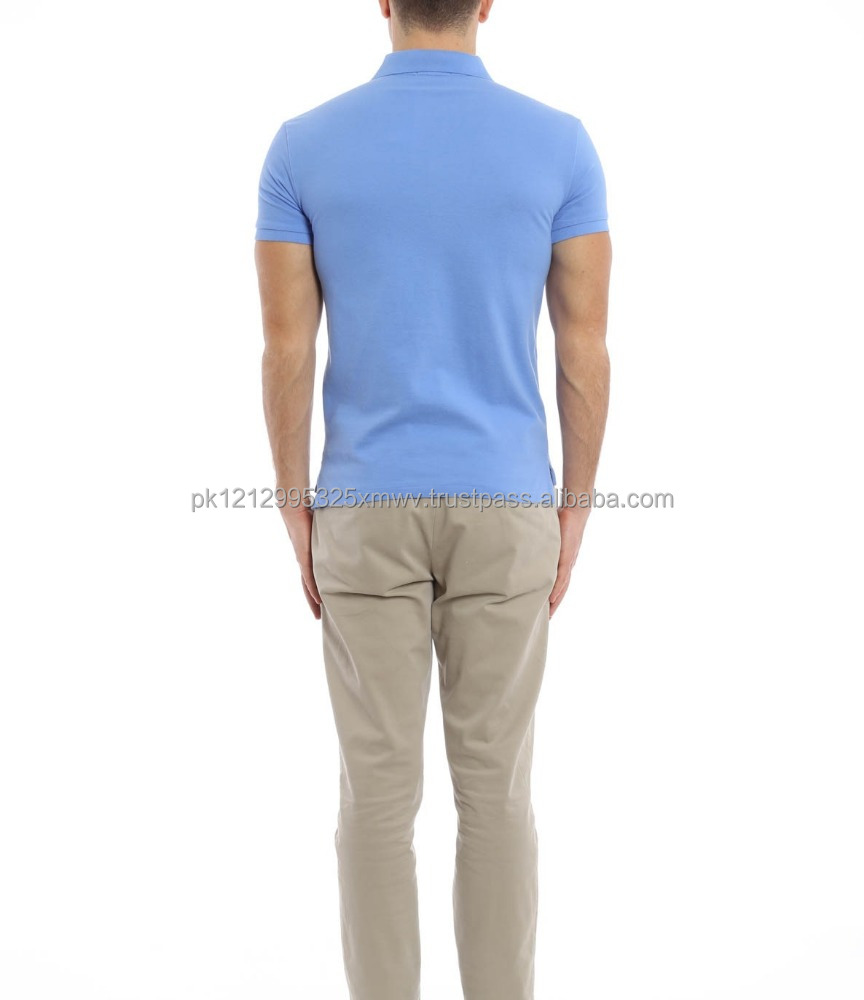 New arrival high quality Soft-touch polo collar short sleeve men's polo shirt