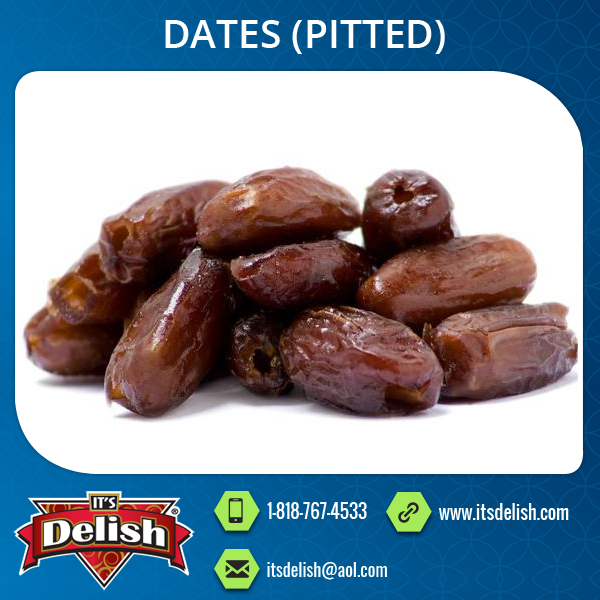 Dried Pitted Dates with Longer Shelf Life
