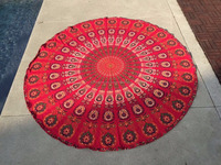 Hippie Tapestries Indian Mandala Queen Wall Hanging Beach Throw Tapestry