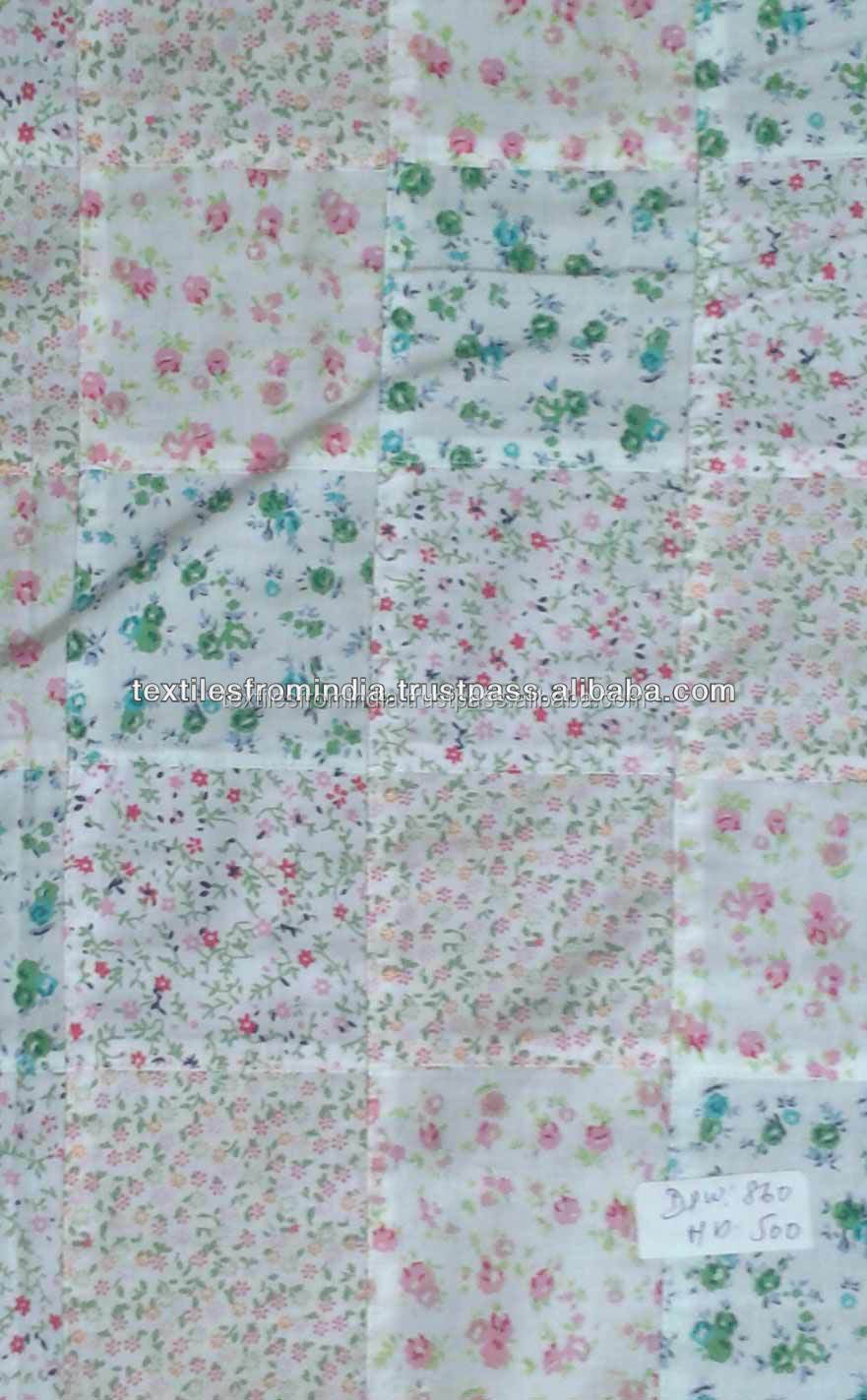 baju kurung madras cotton patchwork fabric