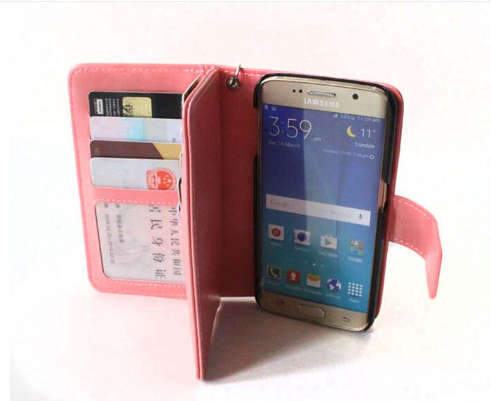 Mobile Phone Cases Waterproof Shockproof Wallet Phone Case For Samsung Galaxy Card Slot Cases