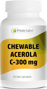 Best Quality CHEWABLE TABLETS 300mg VITAMIN C ASCORBIC ACID