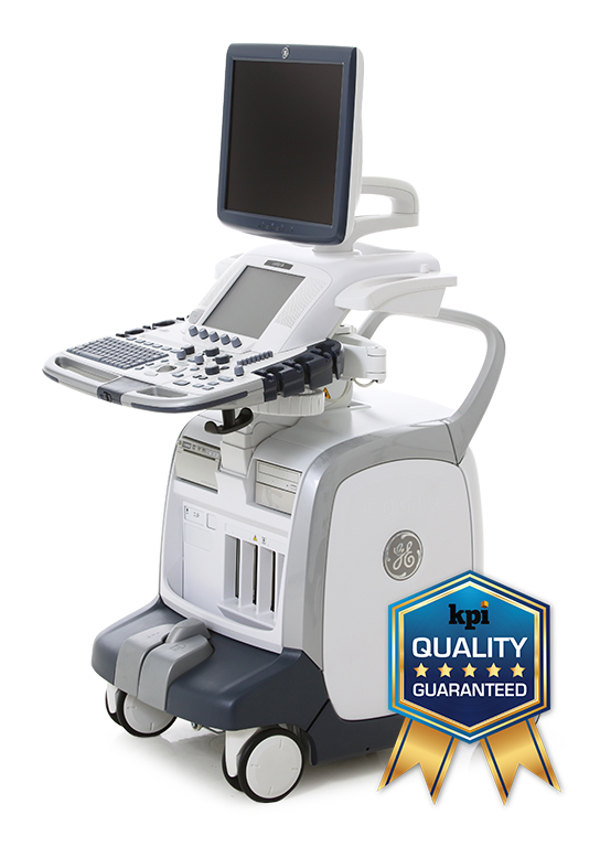 GE Logiq E9 BT11 (R3) General Imaging Ultrasound Machine with 4D Imaging, 3 probes