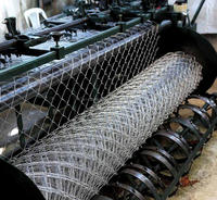 Galvanised Wire Mesh Chain-link Wire Fence