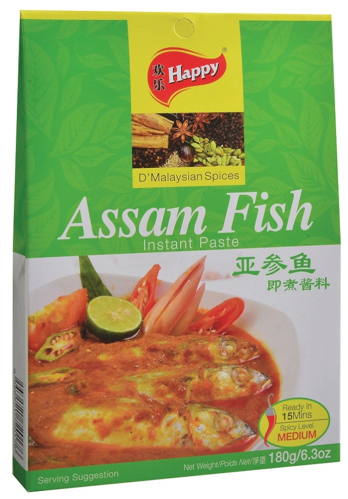 Happy Assam Fish Instant Paste