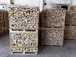 Quality Firewood Kiln Dried Hardwood (1m3 Birch Crate)