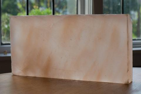 Large Pink Plates Or Slabs For Cooking Made By Himalayan Rock Salt