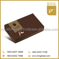 Royal Bird Nest brands Tongkat Ali Chocolate from Malaysia
