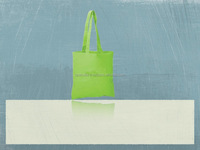 Recycled Organic Cotton Carrier Bag