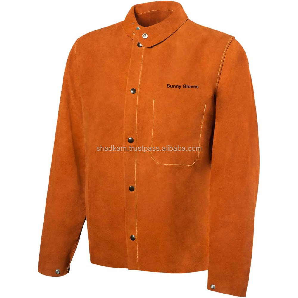 Welding Clothing / Working Leather jackets / Cow split leather welding