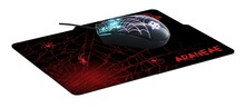 ARANEAE 2400dpi Illuminated Gaming Mouse & Mat Combo Set - Retail Pack
