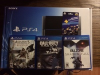 Hot sales Playsttation 4 PS4 10 GAMES 2 EXTRA CONTROLLERS NEW WARRANTY ORIGINAL