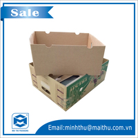 Carton paper box packaging for fruit: cartons containing 10 kg - Lid and Bottom