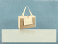 Recycled Canvas Spa Tote Bag