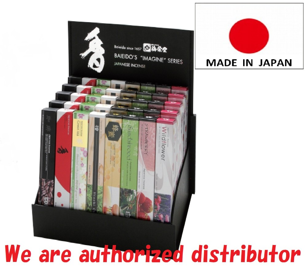 Best-selling japanese incense sticks premium incense at reasonable prices Alpha wave, Endorphin