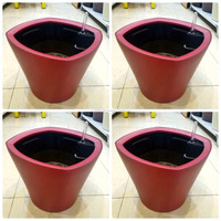 Smart watering Plant pots just need watering 1 time for 4 weeks