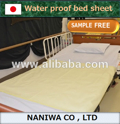 Easy to use and Durable fitted sheet for nursing care , 2 color also available