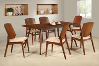Grace solid timber dining set