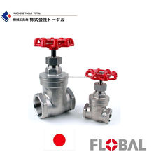 FLOBAL Stainless steel gate valve Made in Japan