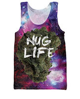 wholesale Custom 3D Sublimation Printing Tank Tops