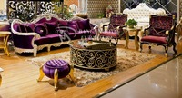 Wood carving Silver living room sofa latest Indonesia sofa designs