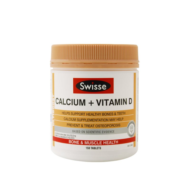 Swisse Calcium+ Vitamin D 150 tablets