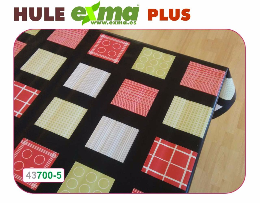 PVC non-woven pvc printed tablecloth