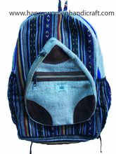 Hemp Bag Pack-Unisex-Hand made in Nepal-exporter of Hemp bags