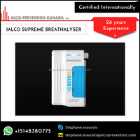 New Smart and Lightweight Breathalyzer with Adustable Alcohol Limit for Sale