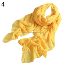 2017 New Solid Color Crochet Cashmere Scarf and Shawl