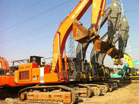 Used heavy equipment Hitachi ZX470 excavator ready for work in shanghai china
