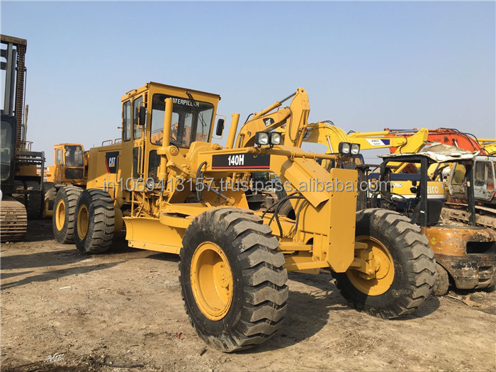 Very Nice !!! Used CAT 140H blademor Motor Grader With Ripper /CAT Caterpillar 140H Grader