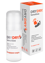 Deodorant without alcohol - DRY DRY Sensitive