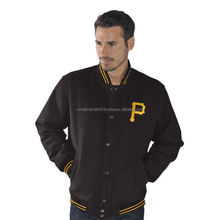 Custom Satin Baseball Varsity Jackets,