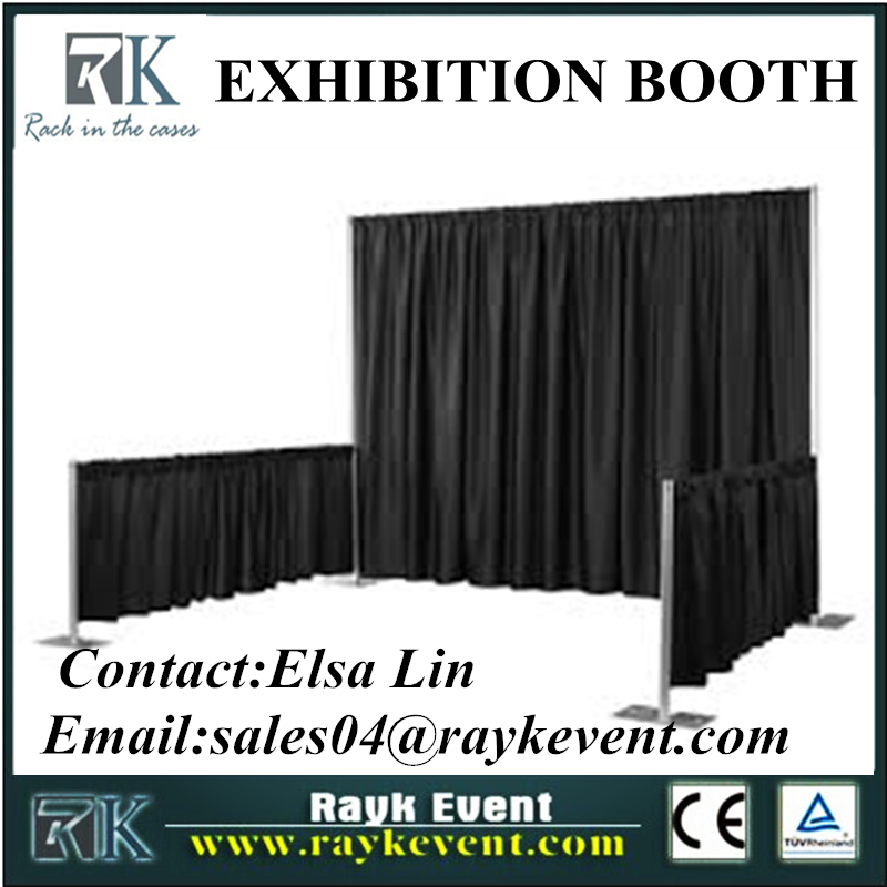 Wholesale trade show booth idea tension fabric trade show booth/exhibition booth
