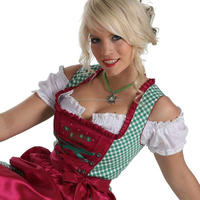 Ripe Custom Mini Dirndl with blouse & apron / Trachten Dirndl Dress / Traditional Bavarian Dirndl (trachten dirndl) 50 Pieces (