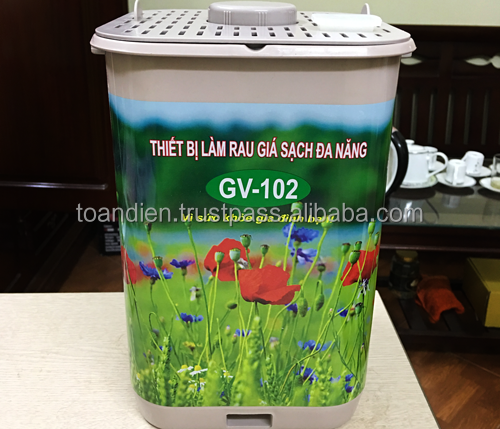 Toandien Bean Sprout Making Machine|GV102 Automatic Bean Sprout Maker|GV102 Home Bean Sprouter
