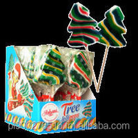 Christmas Tree Hard candy Lollipop 60g