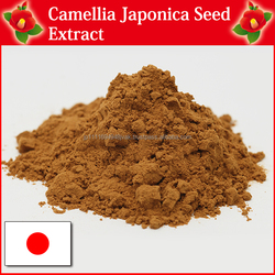 Camellia Japonica seed extract and raw material for cosmetics manufacturing companies
