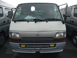 GOOD CONDITION USED CARS FOR TOYOTA HIACE VAN LONG SUPER GL LH113V EXPORTED FROM JAPAN