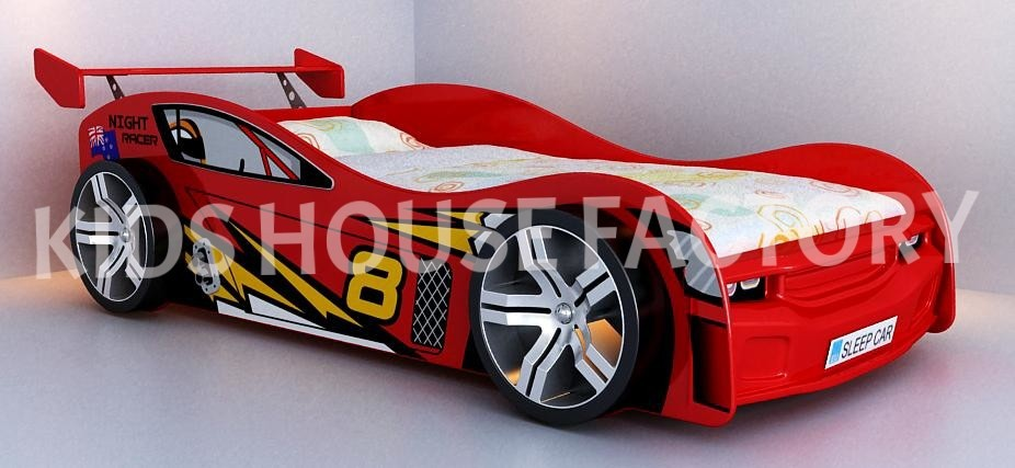 night racer car bed red racing car bed kids car bed