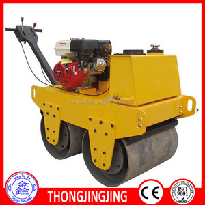 YLS600 double drum hand vibratory road roller