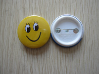 Heat Transfer Sublimation Tin Button Blank Badge Personalised Business Gift Round Pin Badge