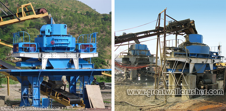 China Supplier VSI Sand Crusher, Sand Making Machine Price for sale
