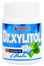 DR. XYLITOL PEPPERMINT FLAVOR CHEWING GUM JAR 48G