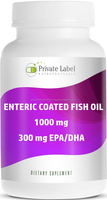 High Quality Health Food 1000mg Omega 3 Fish Oil