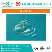 Infusion Set with Super Smooth Kink Resistant Tube