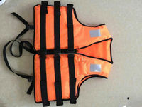 High level Orange. marine LIFE JACKET SOLAS marine life jacket export for Spanish Markets